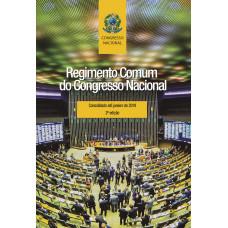 Regimento Comum do Congresso Nacional - atualizado até outubro de 2019