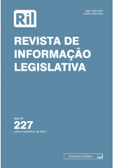 Revista de Informação Legislativa - RIL - nº 227 - 2020