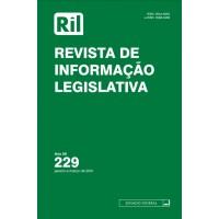 Revista de Informação Legislativa - RIL - nº 229 - 2021