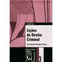 Lições de direito criminal (Coleção História do Direito Brasileiro)