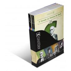 Coleção O Senado na História do Brasil (Arquivo S - vol. I, II, III e IV)