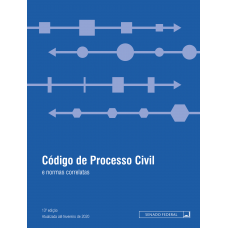 Código de Processo Civil e normas correlatas - 13ª ed. (2020)