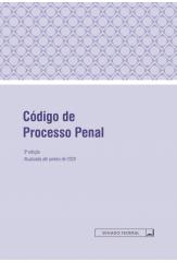Código de Processo Penal - 3ª Edição - 2020