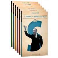 Coleção O Senado na História do Brasil (Arquivo S - vols. I a VI)