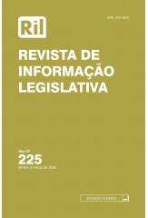 Revista de Informação Legislativa - RIL - nº 225 - 2020