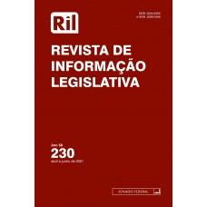 Revista de Informação Legislativa - RIL - nº 230 - 2021