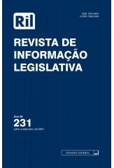 Revista de Informação Legislativa - RIL - nº 231 - 2021