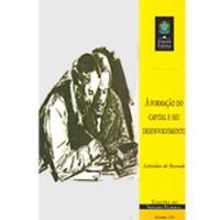 A formação do capital e seu desenvolvimento (vol. 156)