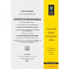 Constituições primeiras do arcebispado da Bahia (vol. 79)