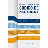Quadro comparativo do Código de Processo Civil - 2ª edição - 9788570187284