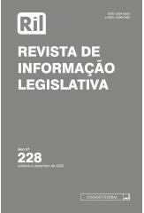 Revista de Informação Legislativa - RIL - nº 228 - 2020